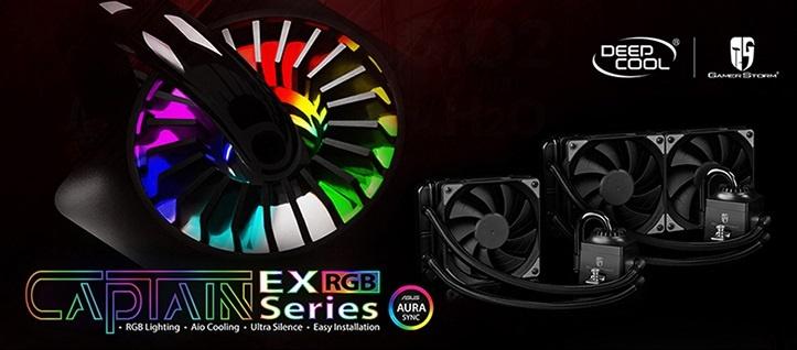 СВО Deepcool Captain EX RGB представлены в двух вариантах