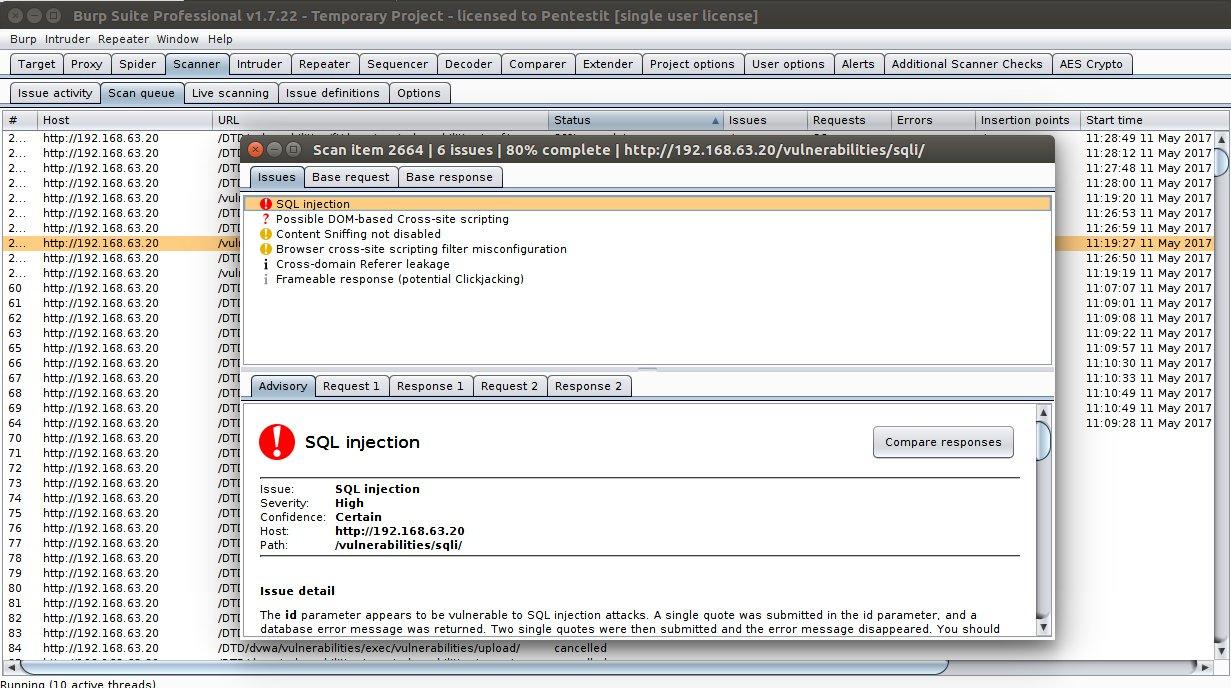Burp Suite: швейцарский армейский нож для тестирования веб-приложений - 2