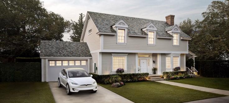 Tesla предлагает вариант Solar Roof без солнечных панелей