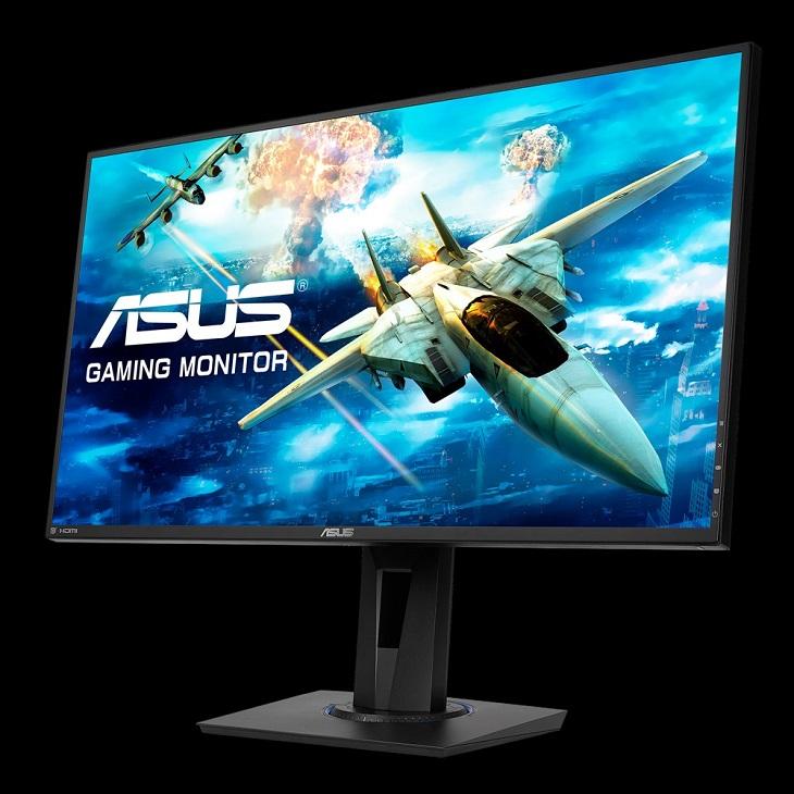 Дисплей Asus VG275Q оснащен скоростной матрицей TN