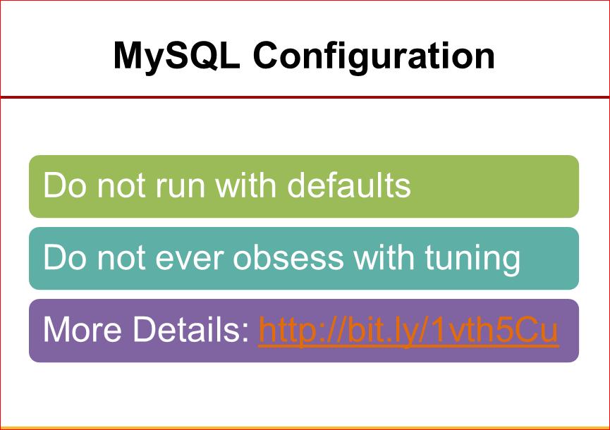 Практическая оптимизация MySQL: измерять, чтобы ускорять - 33