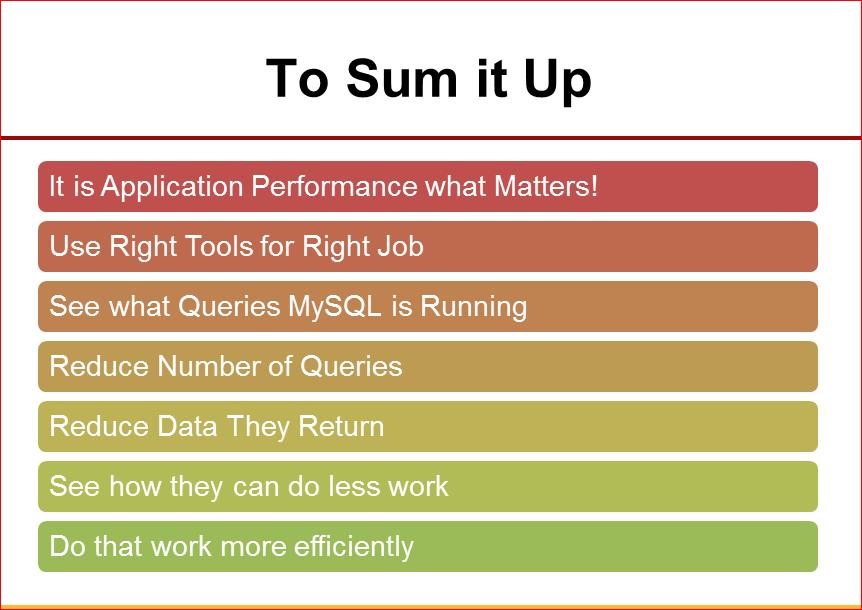 Практическая оптимизация MySQL: измерять, чтобы ускорять - 43