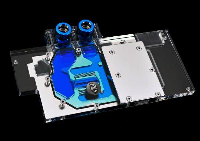 Основание водоблока Bykski A-SP58PLAT-X изготовлено из меди и защищено от коррозии никелированием