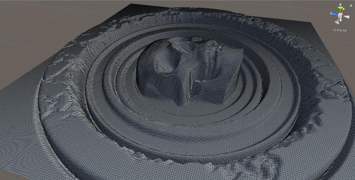 Unity3D. Балуемся с мешем. Часть 1 — Генерация меша с помощью карты высот - 5