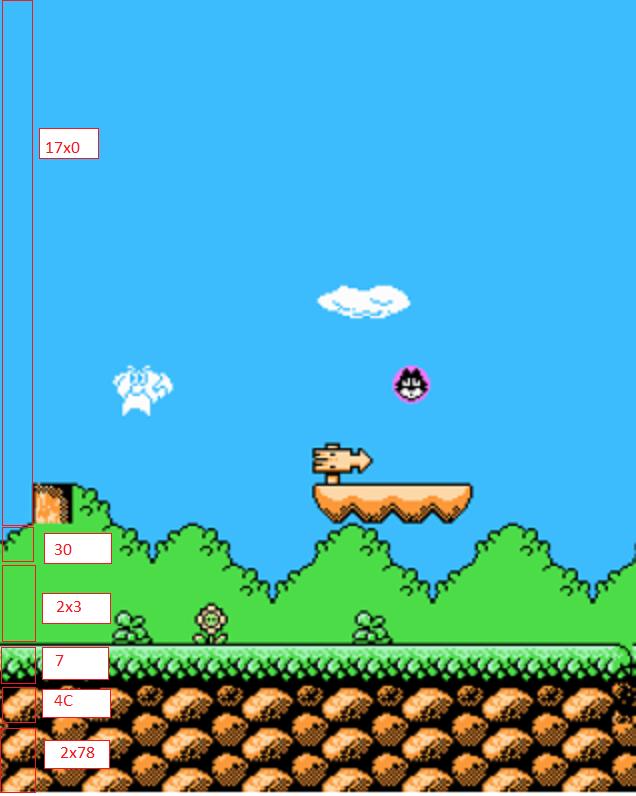 Использование инструментов исследования NES-игр на примере разбора формата компрессии игры Felix The Cat - 8