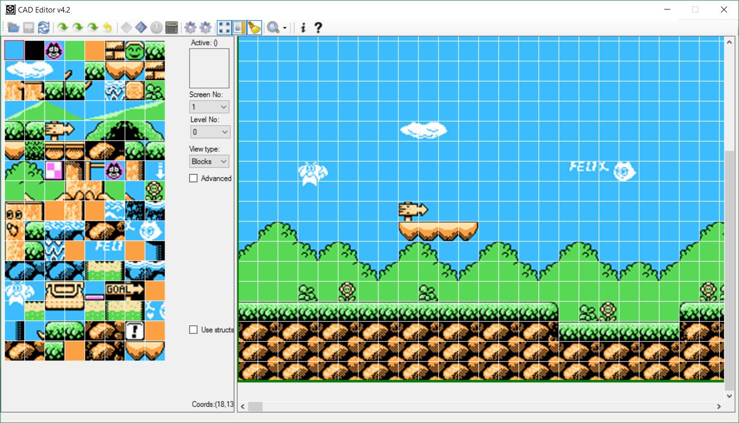 Использование инструментов исследования NES-игр на примере разбора формата компрессии игры Felix The Cat - 9