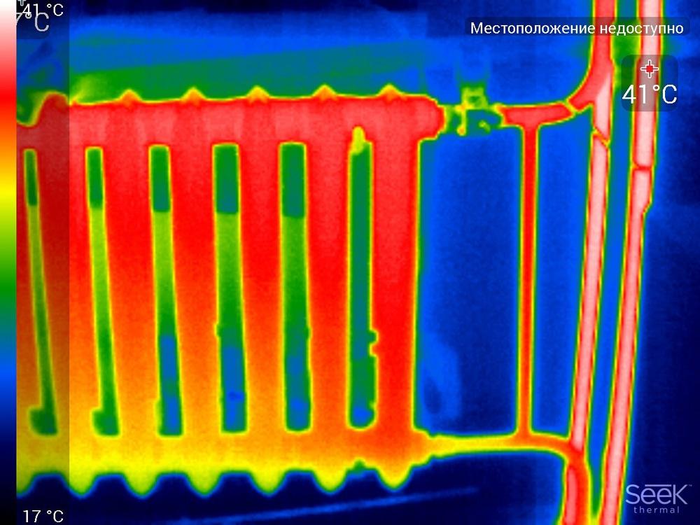 Обзор тепловизора Seek Thermal Compact PRO - 16