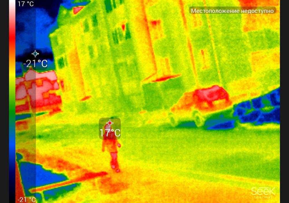 Обзор тепловизора Seek Thermal Compact PRO - 17