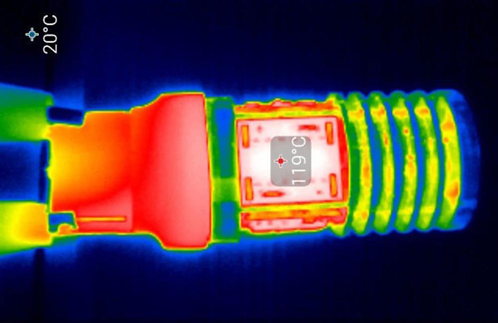 Обзор тепловизора Seek Thermal Compact PRO - 38