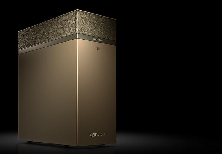 Nvidia DGX-1 и DGX Station получили восемь и четыре ускорителя Tesla V100 соответственно