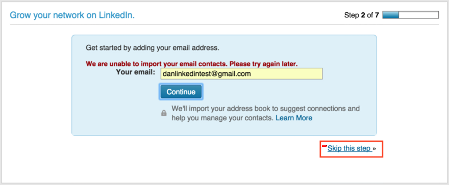 Тёмные паттерны LinkedIn или Почему вам спамят друзья, призывая зарегистрироваться в LinkedIn - 11