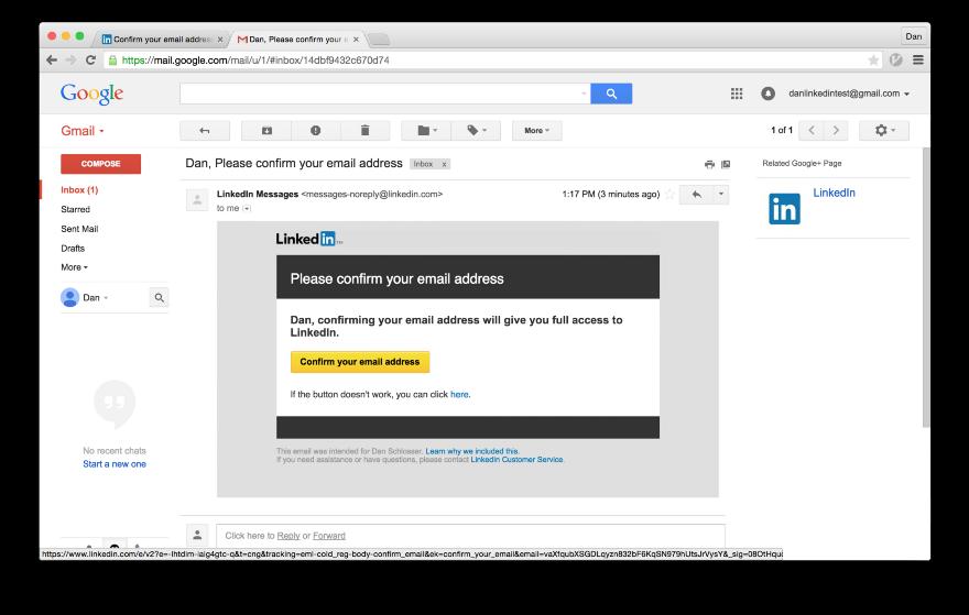 Тёмные паттерны LinkedIn или Почему вам спамят друзья, призывая зарегистрироваться в LinkedIn - 17