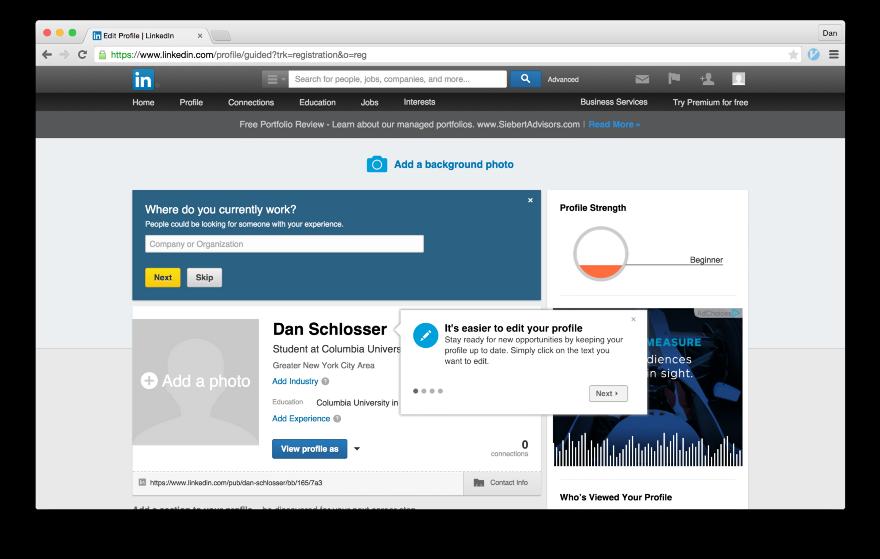 Тёмные паттерны LinkedIn или Почему вам спамят друзья, призывая зарегистрироваться в LinkedIn - 22