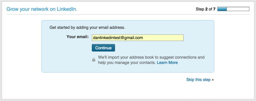 Тёмные паттерны LinkedIn или Почему вам спамят друзья, призывая зарегистрироваться в LinkedIn - 7