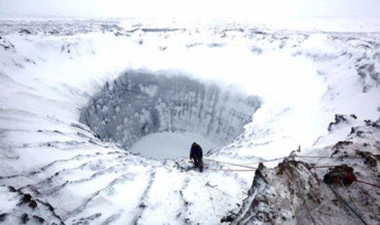 Ученые считают, что на Антарктиде есть огромный кратер