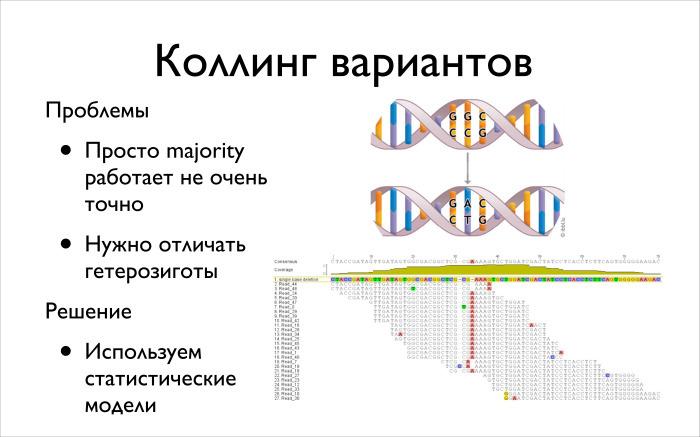 Алгоритмические задачи в биоинформатике. Лекция в Яндексе - 11