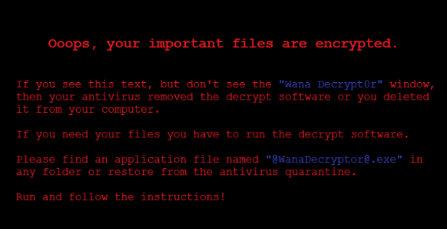 Анализ шифровальщика Wana Decrypt0r 2.0 - 1