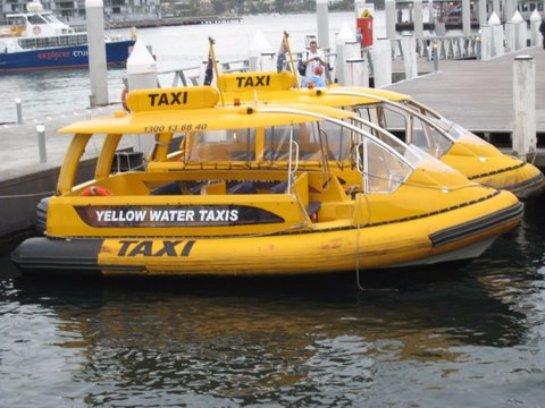 Французские изобретатели создали водное такси