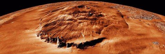 Ученые считают, что жизнь на Марсе была, но ее уничтожил древний вулкан