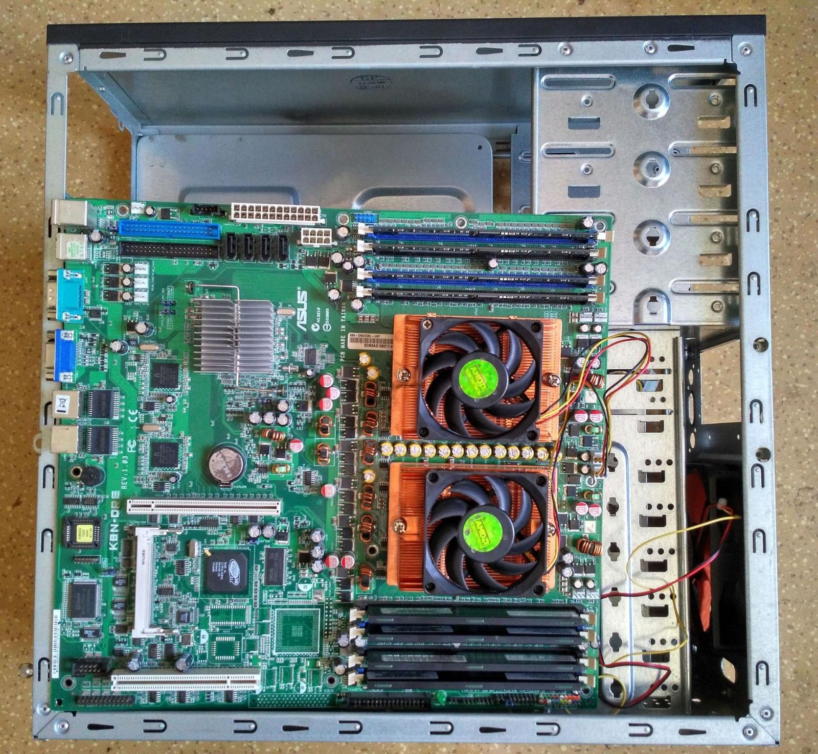 Герои давно ушедших времен против современных компьютерных задач: краткий обзор необычной двухпроцессорной материнки - 10