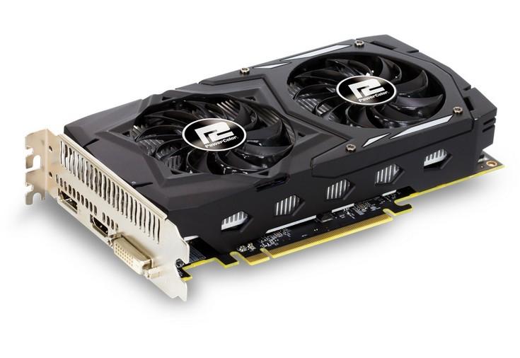 PowerColor представила пару карт Red Dragon Radeon RX 560