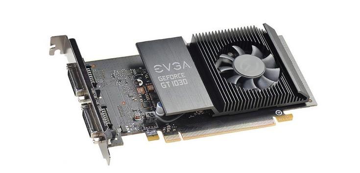 EVGA приготовила три карты GT 1030, но представила только одну