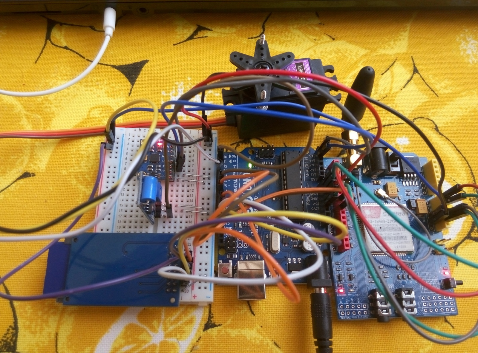 GSM-сигнализация для автомобиля на базе Arduino Uno - 13