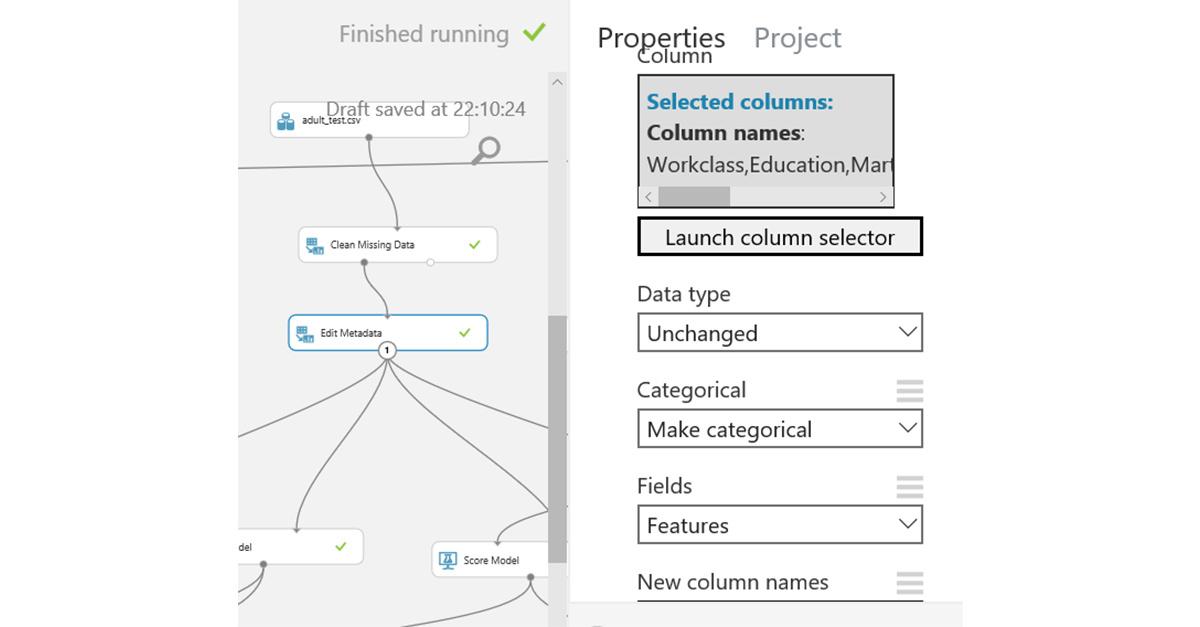 Экспериментируем с Azure ML: Классификация, деревья решений - 5