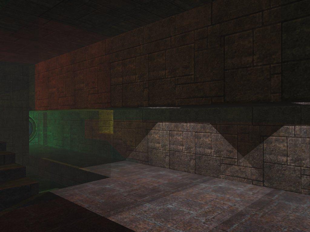 Использование источников света OpenGL для построения цветных теней - 1