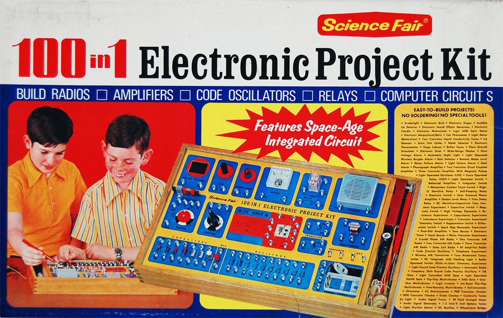 Лучшие игрушки для будущих технарей времён нашего детства (СССР и США) - 2