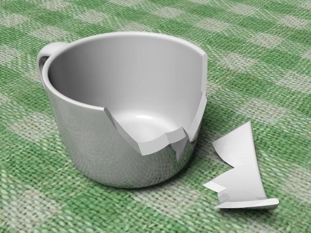 Разбитая чашка - 1