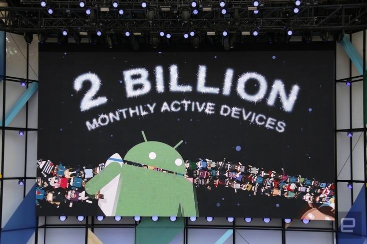 Семь платформ Google имеют более 1 млрд пользователей