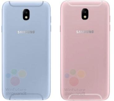 Samsung Galaxy J5 и Galaxy J7 2017 года получат новую форму пластиковых вставок для антенн
