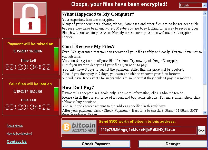 Программа-шантажист WannaCrypt атакует необновлённые системы - 5