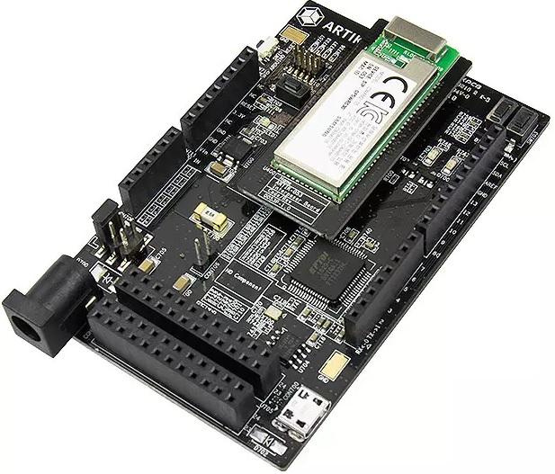 Плата Artik 053 может оснащаться дочерней платой со всеми необходимыми интерфейсами