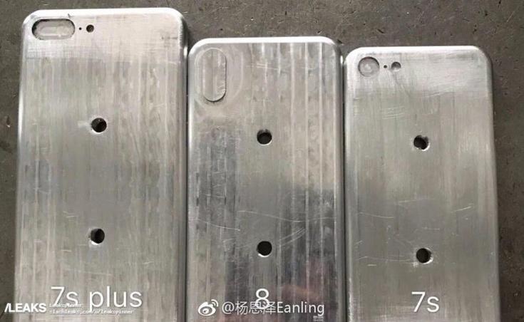Модель iPhone 8, наиболее интересная из трех, будет по размерам напоминать модель iPhone 7