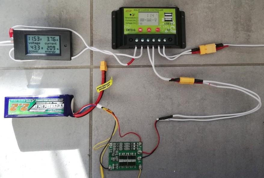 Солнечная батарея на балконе: тестирование контроллера заряда - 2