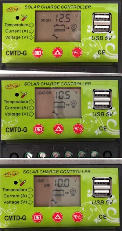 Солнечная батарея на балконе: тестирование контроллера заряда - 3