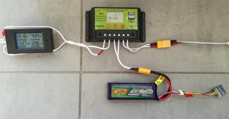 Солнечная батарея на балконе: тестирование контроллера заряда - 5