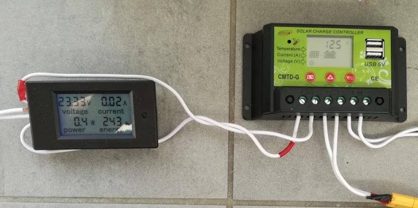 Солнечная батарея на балконе: тестирование контроллера заряда - 6