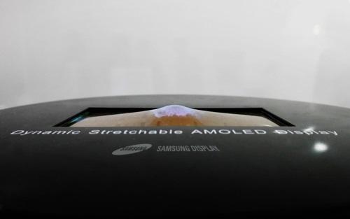На этой неделе Samsung покажет первый в мире «растягивающийся» дисплей