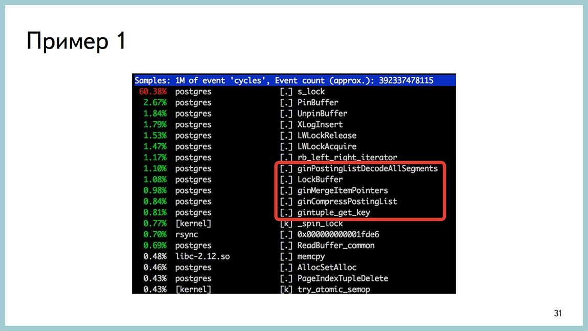 Способы диагностики PostgreSQL — Владимир Бородин и Ильдус Курбангалиев - 29