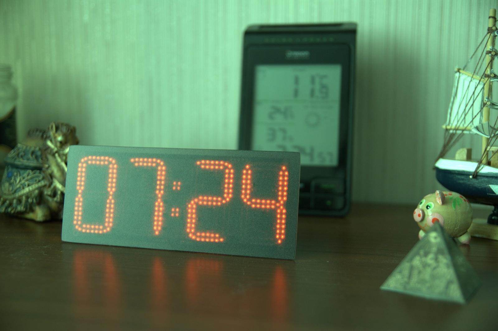 Ещё одни часы с WiFi. Clock380 - 21