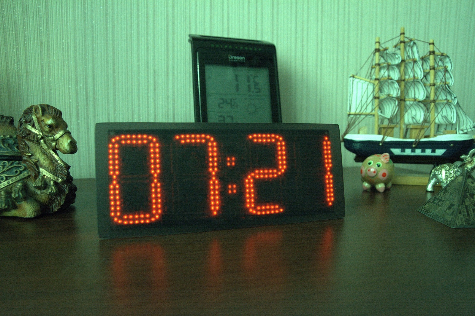 Ещё одни часы с WiFi. Clock380 - 1