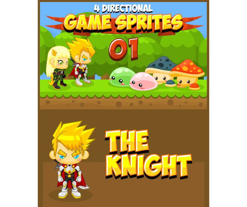 Must-Have: 15 игровых спрайтов для дизайнера и художника - 15
