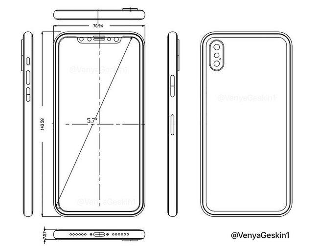 Инсайдер опубликовал новые сведения о фронтальной камере iPhone 8
