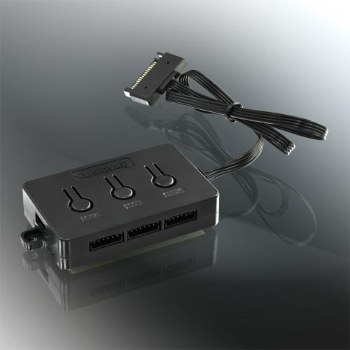 Вентиляторы Raijintek Aura 12 RGB продаются по одному в наборах по три штуки