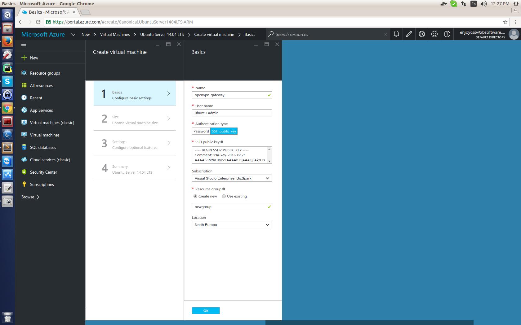 OpenVPN в Microsoft Azure для виртуального объединения подписок. Опыт GanttPRO — сервиса для управления проектами - 5