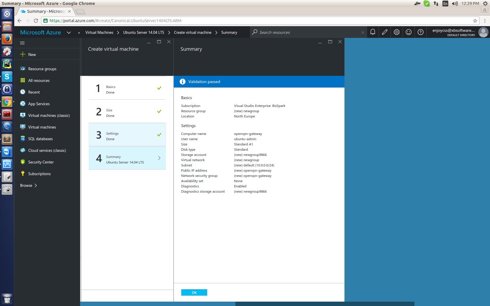 OpenVPN в Microsoft Azure для виртуального объединения подписок. Опыт GanttPRO — сервиса для управления проектами - 6