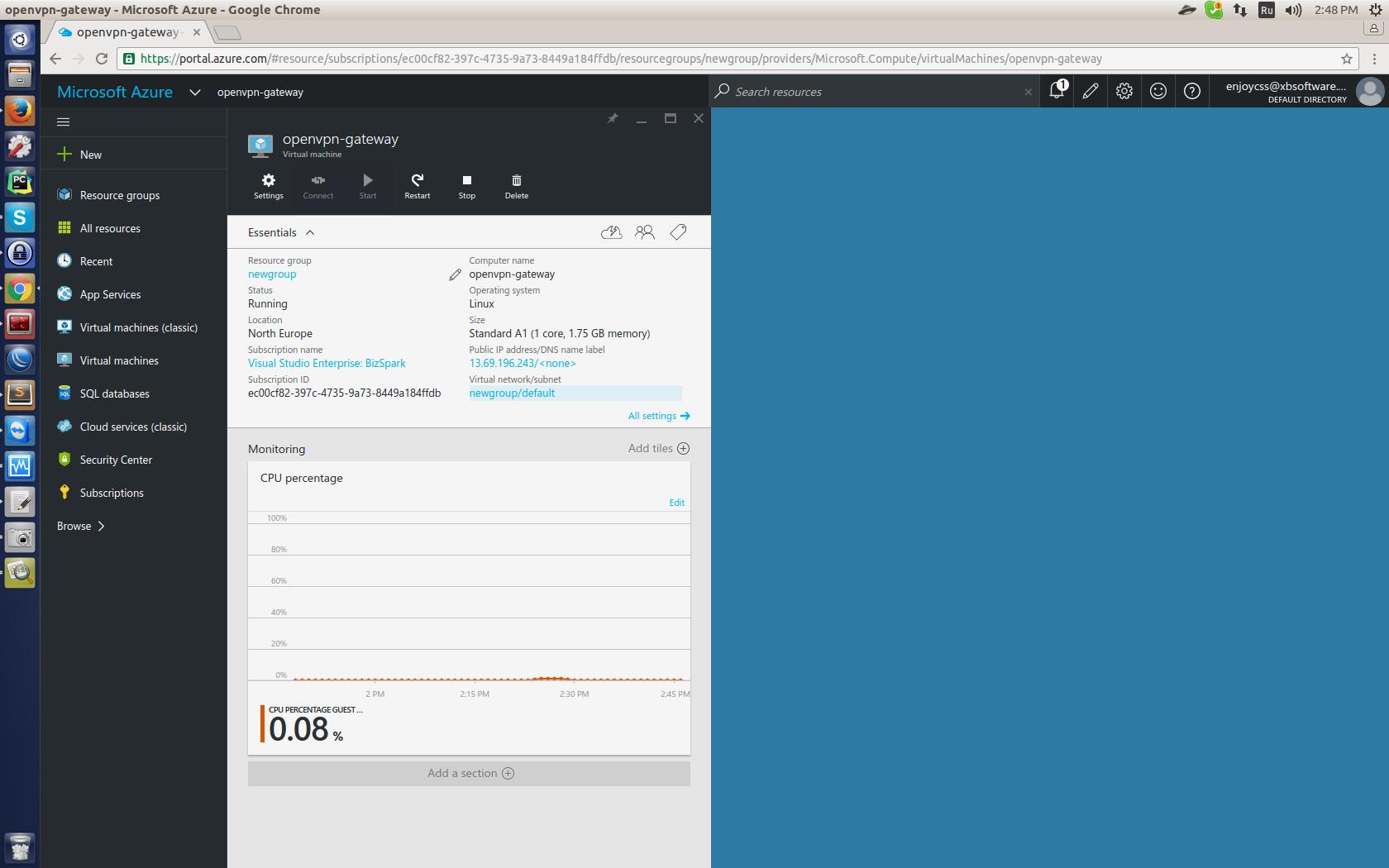 OpenVPN в Microsoft Azure для виртуального объединения подписок. Опыт GanttPRO — сервиса для управления проектами - 7